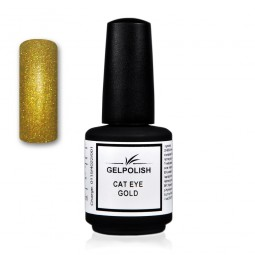 Gelpolish Cat-Eye Gold