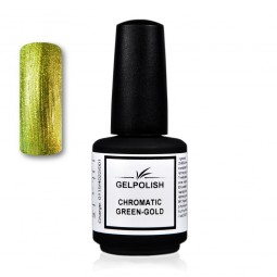 Gelpolish Chromatic Green-Gold