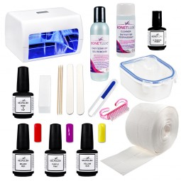 Kit complet Gelpolish Vernis permanent